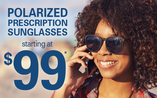 Polarized prescription sunglasses starting at $99